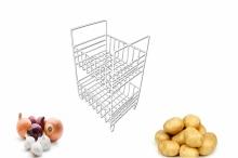 Raft legume metal 2 etaje